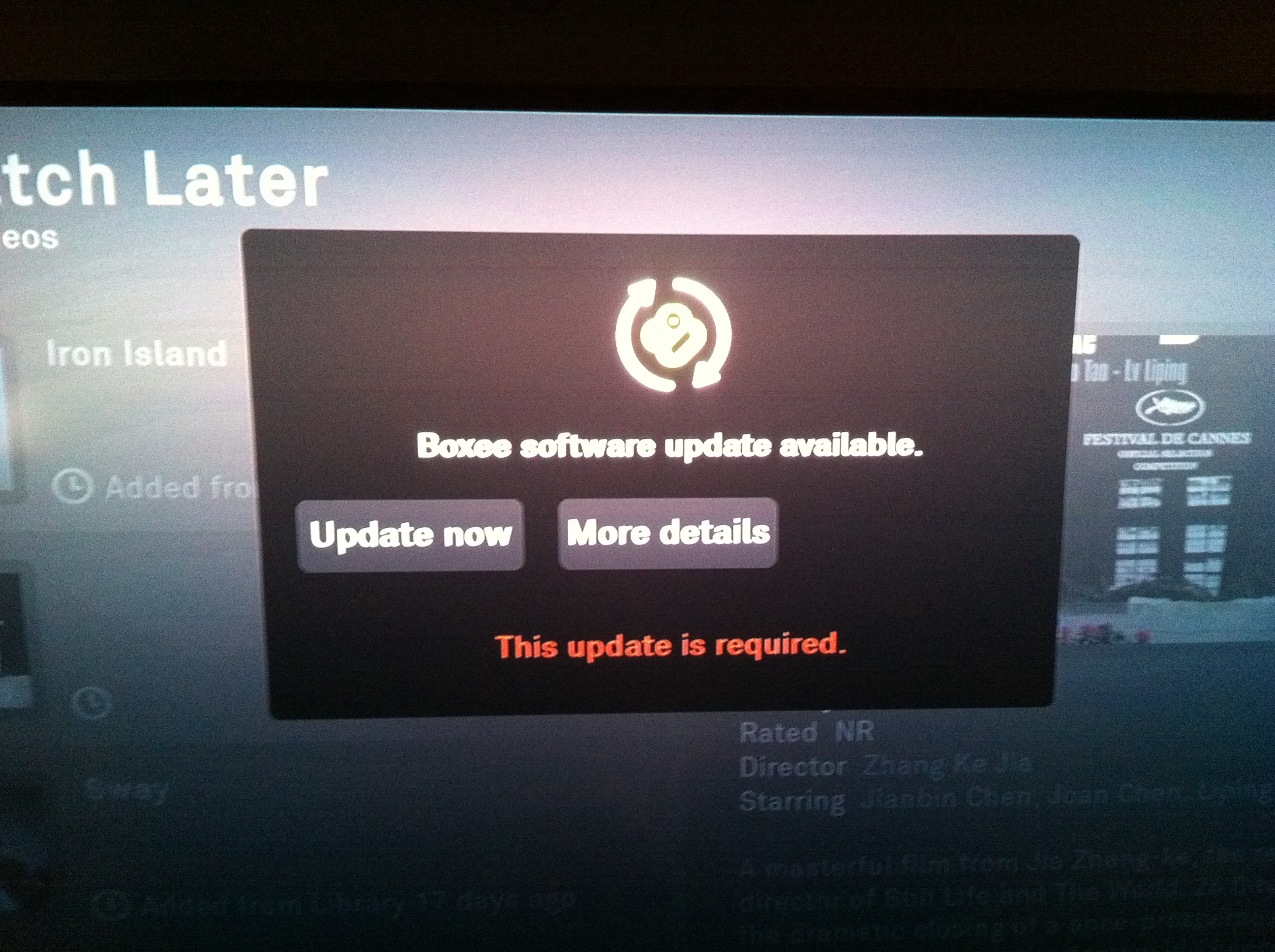 Boxee not updating library